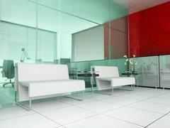 modern interior - stock illustration