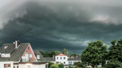 Wall cloud Time Lapse Stock Footage