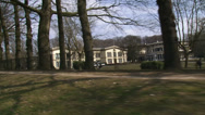 Stock Video Footage of H706009 rivARNHEM, THE NETHERLANDS - vehicle shot Bronbeek country estate