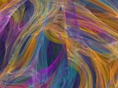 Digital fractal Stock Illustration