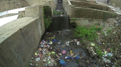 Toxic Trash Pollution - stock footage