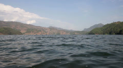 HD: Begnas Lake, Pokhara, Nepal. Stock Footage