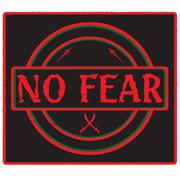 No Fear Stamp Stock Illustration