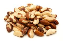 brazilian nuts - stock photo