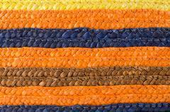 Wicker stripes pattern Stock Photos