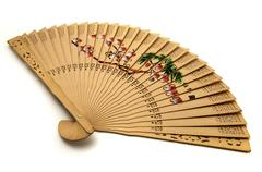 Chinese hand-held fan Stock Photos