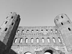 Torri Palatine, Turin - stock photo