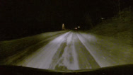 Stock Video Footage of Aspen Snow Road