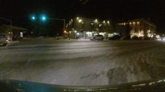 Snow Town Aspen Colorado - stock footage