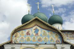 Cathedral of the Christ Resurrection in Tutaev, Russia - stock photo