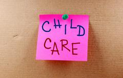 Child care concept Stock Illustration