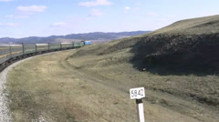 Trans-Siberian Railway - Russia Stock Footage