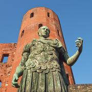 Stock Photo of Roman statue of Augustus