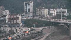 Yibin city Stock Footage