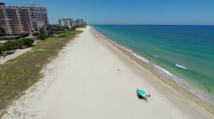 Aerial Lauderdale by the sea 2 Stock Footage