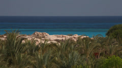 Mediterranean coast in Marsa Matruh, Egypt Stock Footage