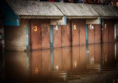 Flooded garage Kuvituskuvat