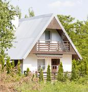 Summerhouse in Poland Stock Photos