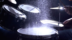 Wet Drums Stock Footage