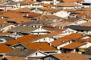 Stock Photo of modern rooftops