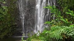 Hawaii Wailua Falls Hana 8 - stock footage