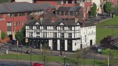 Sheffield the howard pub, england Stock Footage