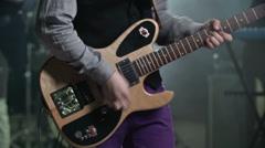 Twanging Guitar Stock Footage