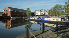 Victoria quays, sheffield, yorkshire, england Stock Footage