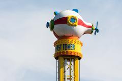 Fun Park Amusement Submarine Kuvituskuvat