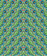 colorful geometric abstract pattern - stock illustration