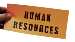 Cutting Human Resources Business Concept Stock Footage