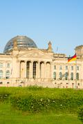 Reichstag building (german government) in Berlin, Germany Stock Photos