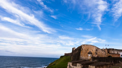Old San Juan Fort h264-420 1080p HQ - stock footage