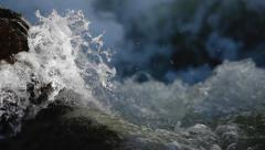 Slow Motion Water Sequence Stock Footage