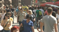 4K & HD res-n, Crowd at the street, daytime Footage