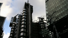 The Lloyd's building Stock Footage