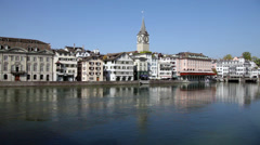 Zurich, Switzerland Stock Footage