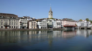 Stock Video Footage of Zurich, Switzerland