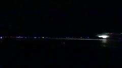 F 18 Hornet Field Carrier Landing Practice-Iwo Jima Stock Footage