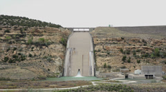 Navajo Dam Spillway New Mexico HD 210 Stock Footage
