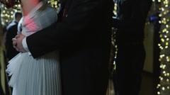 MS Couples dancing on prom night / Cedar Hills, Utah, USA Stock Footage