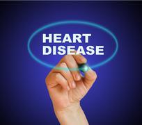 heart disease - stock illustration