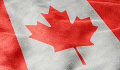 Flag of canada Stock Illustration
