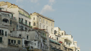 Stock Video Footage of WS LA PAN Buildings at Amalfi Beach / Italy