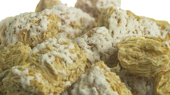 4K Cereal Squares Breakfast Stock Footage