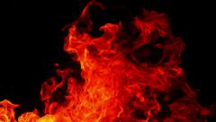 Fire 96fps 03 Slow Motion x4 Stock Footage