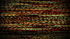 Tv Noise color Stock Footage