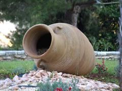 amphora - stock photo