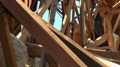 Abandoned Damaged Building Stock Footage