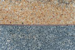 Gravel surface color 2 Stock Photos